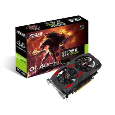 Asus Cerberus GeForce GTX 1050 Ti 4GB