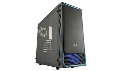 Cooler Master MasterBox E500L blue window