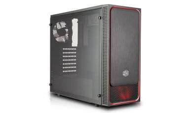 Cooler Master MasterBox E500L red window