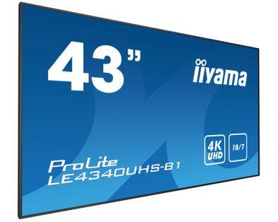 """IIYAMA ProLite LE4340UHS-B1 43"""" UHD 4K"""