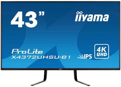 """IIYama ProLite X4372UHSU-B1 43"""" IPS 4K"""