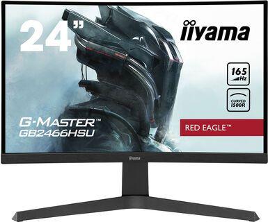 "IIYama G-Master GB2466HSU-B1 24"" Curved"