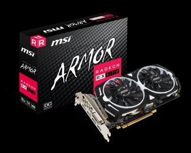 MSI Radeon RX 570 Armor 8GB OC