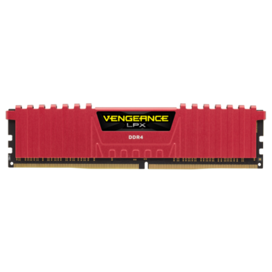 Corsair Vengeance LPX 8GB (1x8GB) DDR4 2666MHz Red