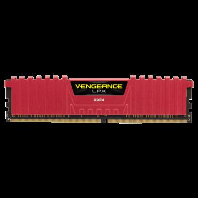 Corsair Vengeance LPX 4GB (1x4GB) DDR4 2400MHz Red