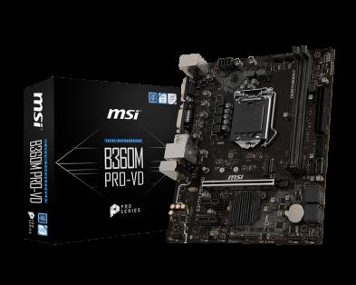 MSI B360M PRO-VD