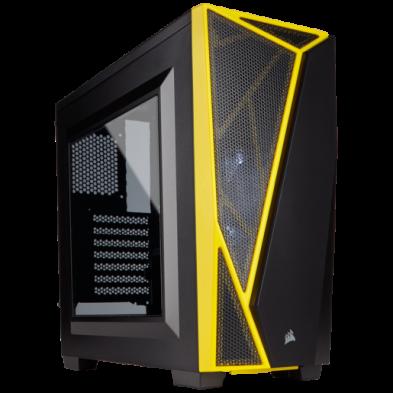 Corsair Carbide Series Spec-04 Black Yellow