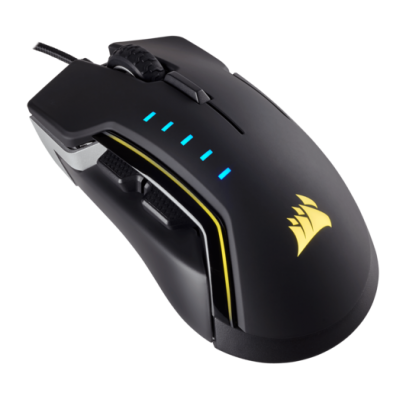 Corsair Glaive RGB Gaming Mouse Aluminium