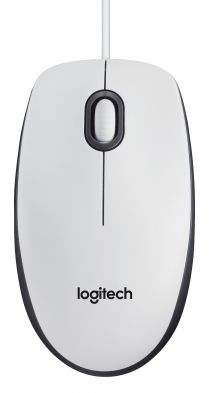 Logitech B100 Optical White