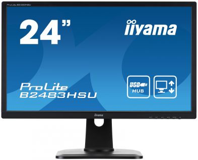 "IIYAMA B2483HSU-B1DP 24"""