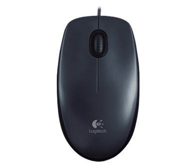 Logitech M100 Optical Mouse Black