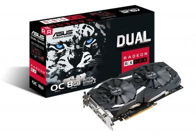 Asus Dual Radeon RX 580 8GB OC