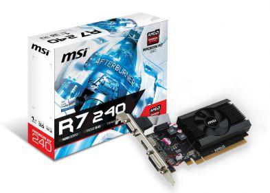 MSI Radeon R7 240 LP 1GB