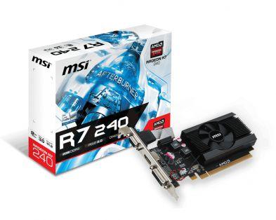 MSI Radeon R7 240 LP 2GB