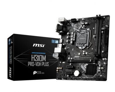 MSI H310M PRO-VDH Plus
