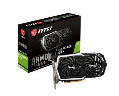 MSI GeForce GTX 1660 TI ARMOR 6G