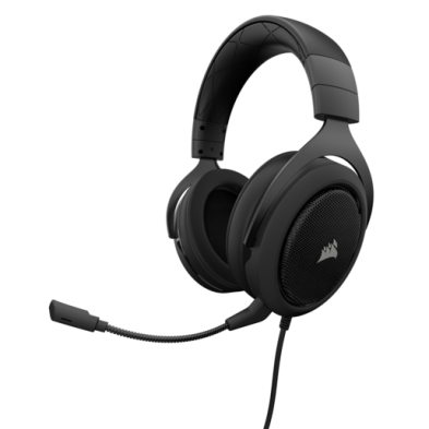 Corsair HS60 SURROUND Gaming Headset Carbon