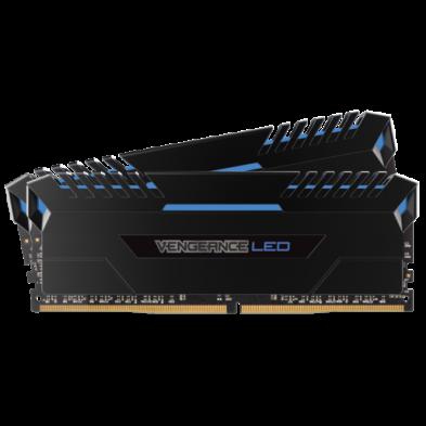 Corsair Vengeance LED 16GB (2x8GB) DDR4 2666MHz Blue