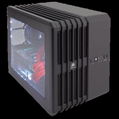 Corsair Carbide Series Air 240 Black Edition High Airflow mATX ITX PC Case