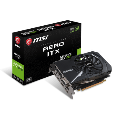 MSI GeForce GTX 1060 Aero ITX 3GB OC