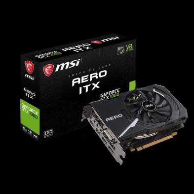 MSI GeForce GTX 1060 Aero ITX 6GB OC