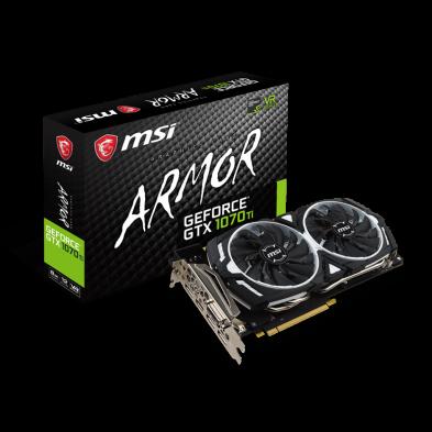 MSI GeForce GTX 1070 Ti 8GB Armor