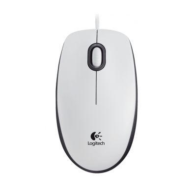 Logitech M100 Optical Mouse White