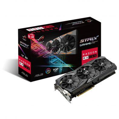 Asus ROG Strix Radeon RX 580 8GB Top