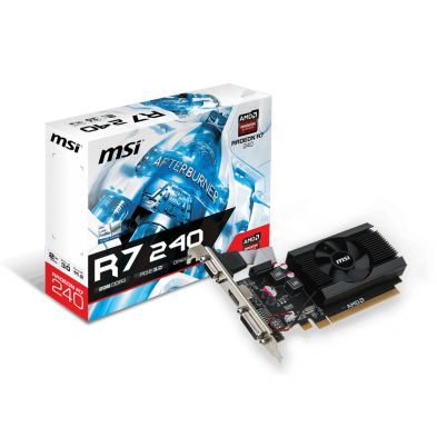 MSI Radeon R7 240 LP 2GB