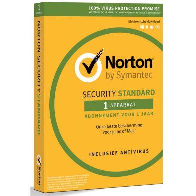Norton Security 3.0 Standard (1 Apparaat / 1 Jaar)