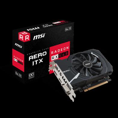 MSI Radeon RX 560 AERO ITX 4GB OC