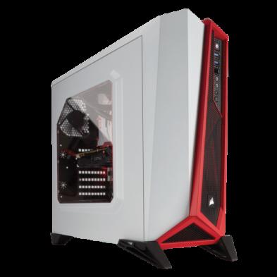 Corsair Carbide Series Spec-Alpha White Red